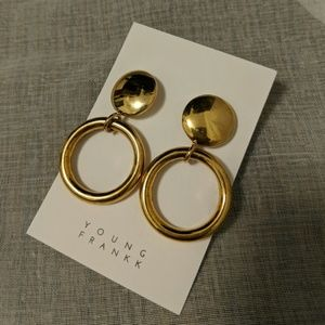 Young Frankk Gold Earrings